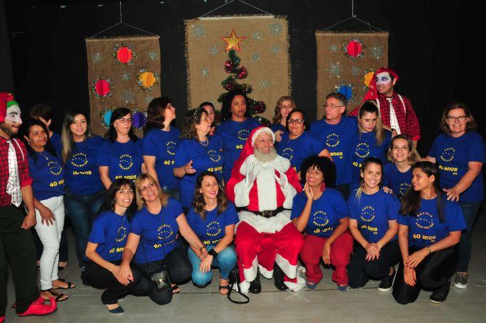 Festa de Encerramento com Papai Noel - 2019